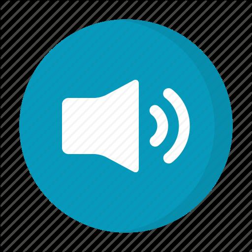 High Volume, Sound, Speaker Icon