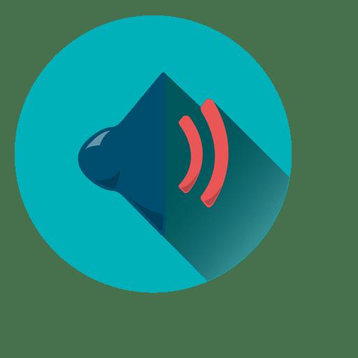 Mute Button Flat Icon