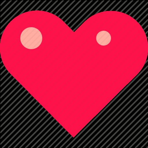 Heart, Highlights, Love, Valentine Icon