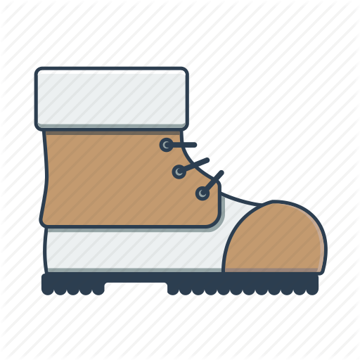 Boot, Brogue, Hiking, Hiking Boot, Shoe Icon