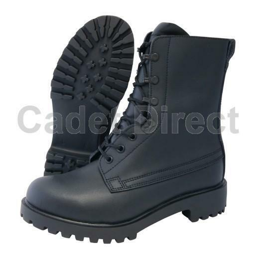 British Assault Boots, Black