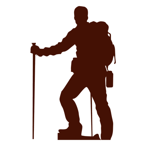 Hiking Vector Traveller Huge Freebie! Download For Powerpoint