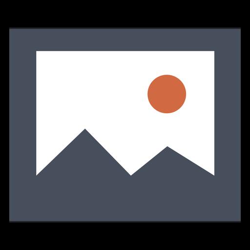 Mountain Square Icon