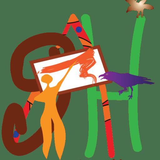 Cropped Sah Logoelements Handdrawn Sedona Art Hikes