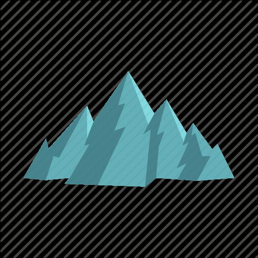 Hill, Ice, Mountain, Season, Snow, Travel, Winter Icon