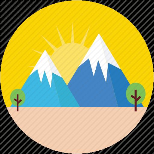 Hill Station, Hills, Landscape, Mountains, Rocks Icon