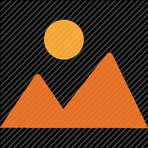 Hill Station, Mountain, Nature, Sun Icon