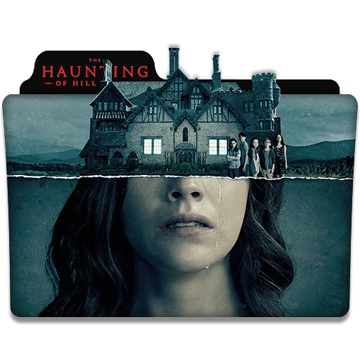 The Haunting Of Hill House Tv Series Folder Icon