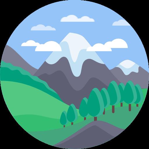 Landscape, Nature, Mountains, Altitude Icon
