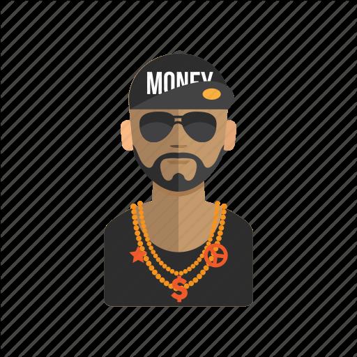 Avatar, Hiphop, Man, Rapper, User Icon