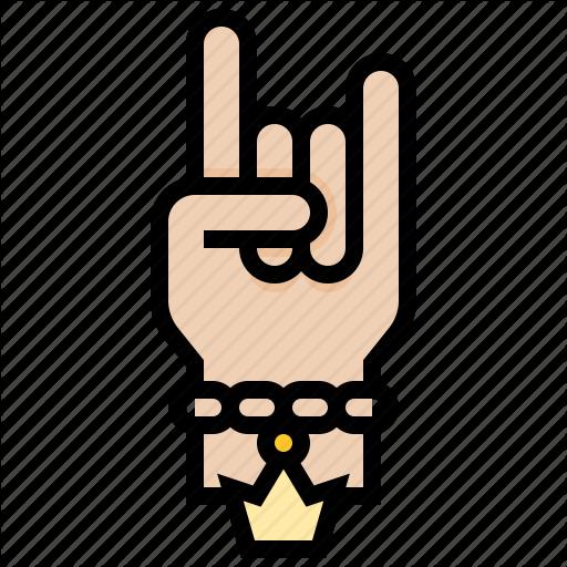 Finger, Gestures, Hand, Hiphop, Rock Icon