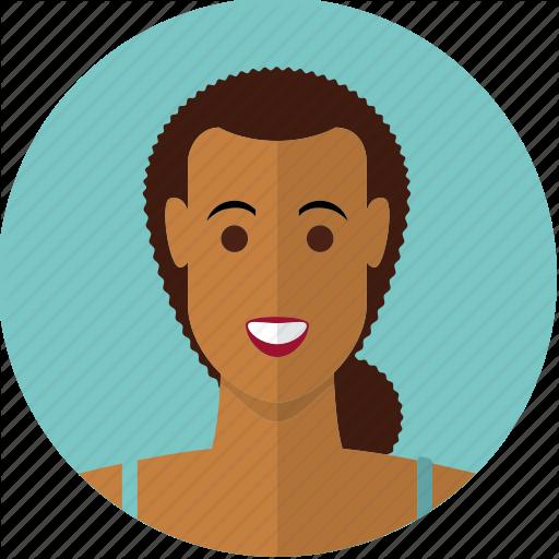 Avatar, Beautiful, Brown, Face, Girl, Hispanic, Woman Icon