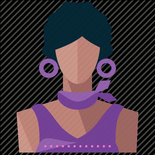 Avatar, Hispanic, Person, Profile, User, Woman Icon
