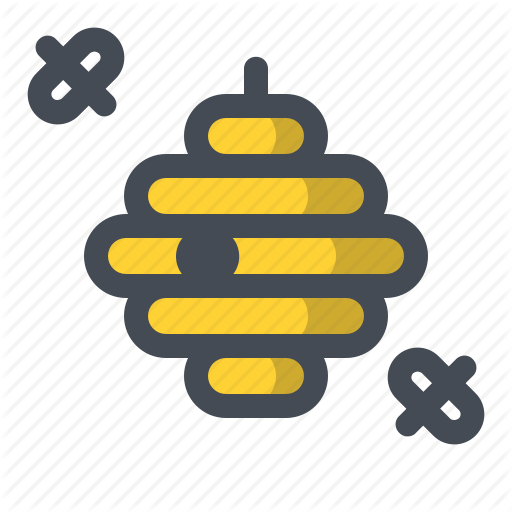 Bee, Bee Swarm, Bees, Fly, Hiking, Hive, Swarm Icon