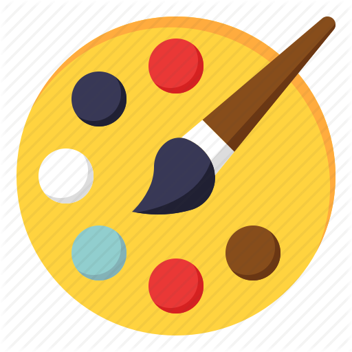 Brush, Color, Drawing, Hobby, Paint Icon