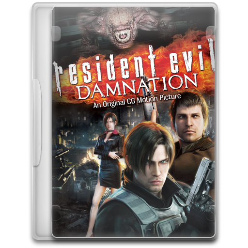 Covers, Cover, Resident, Evil, Damnation, Movie Icon Free Of Movie