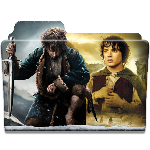 Hobbit And Lord Of The Rings Folder Icon