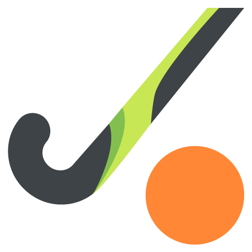 Field Hockey Stick And Ball Emoji For Facebook, Email Sms Id