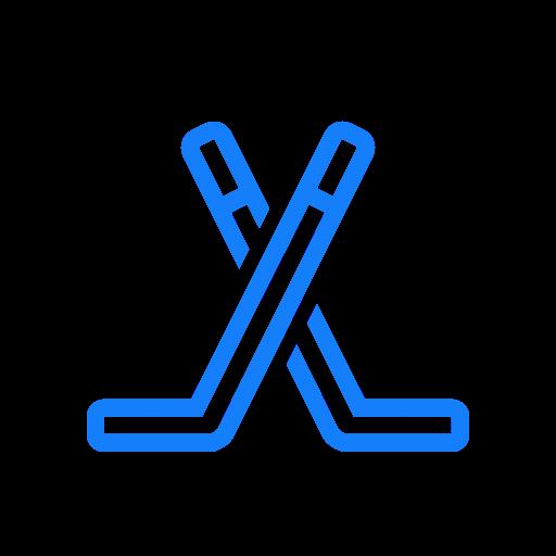 Hockey, Sticks Icon