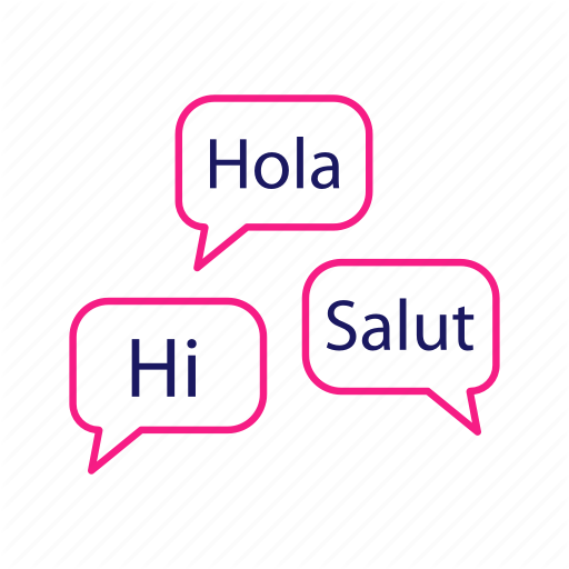 Foreign, Hi, Hola, Language Courses, Salut, Speaking Club, Speech