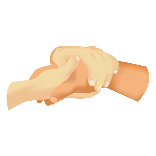 Hands Holding Hand Icon