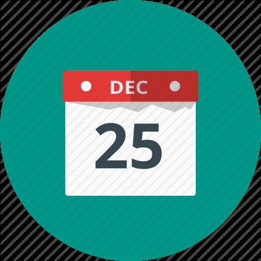 Calendar, Celebration, Christmas, Date, Event, Holiday Icon
