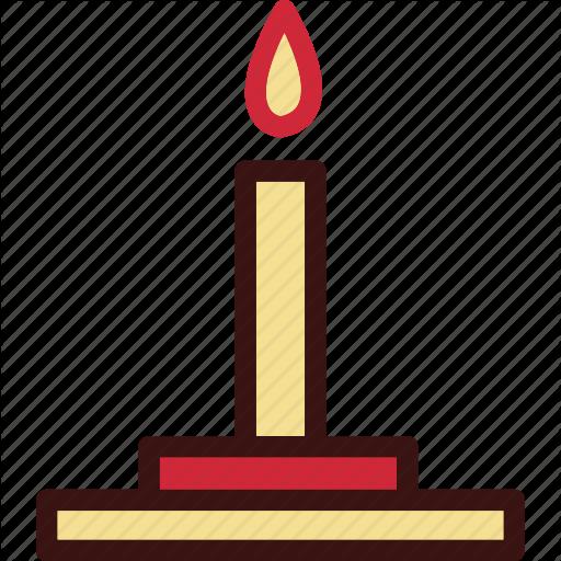 Candle, Celebration, Christmas, Decoration, Holiday Icon
