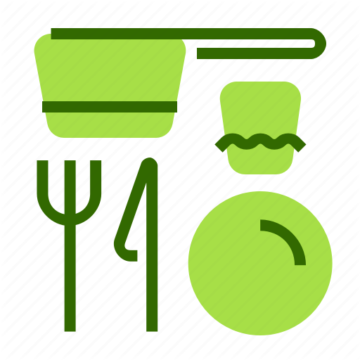 Cook, Crockery, Cutlery, Holiday Icon