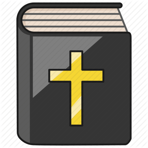 Bible, Book, Christian, God, Holy, Sacred, Word Icon