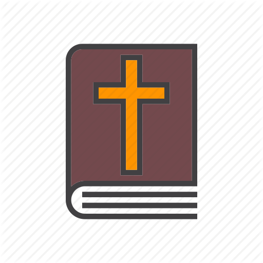 Bible, Book, Cross, Holy Icon