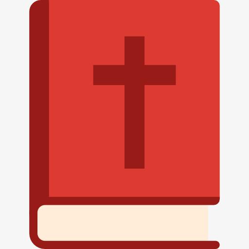 Christian Holy Book, Book Clipart, Cross Logo, Catholic Church Png