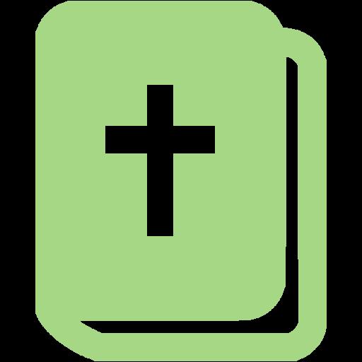 Guacamole Green Holy Bible Icon