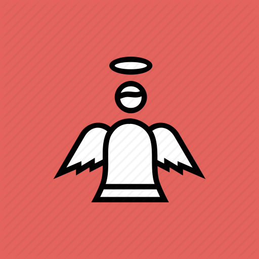 Angel, Christmas, Easter, Fairy, Holy, Spirit Icon