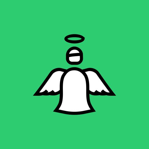 Angel, Year, Holy, New, Christmas, Fairy, Spirit Icon
