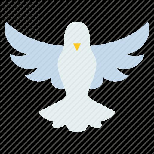 Bird, Catholic, Christ, Christian, Dove, Flying, Holy Spirit Icon