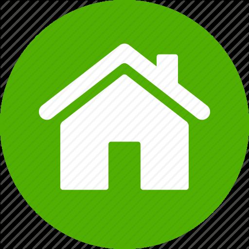 Address, Casa, Circle, Green, Home, House, Local Icon