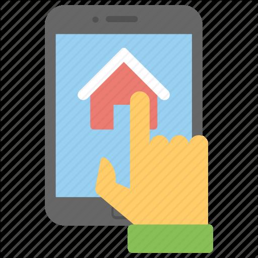 Mobile Home App, Mobile Navigation, Online Estate, Online Mortgage
