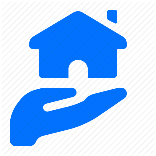 Care, Hand, Home, House Icon