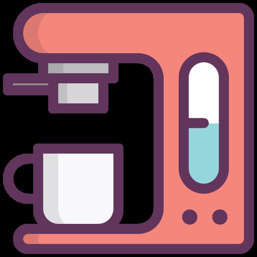 Coffee Machine, Coffee Maker, Kitchen, Restarurante Icon Free