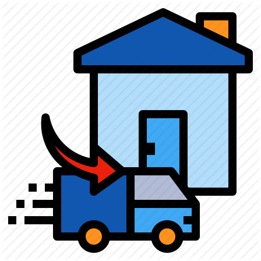 Delivery, Home, Shipping, Truck Icon