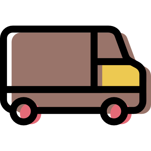 Home Delivery, Distribution, Vehicle, Van, Delivery, Transport Icon