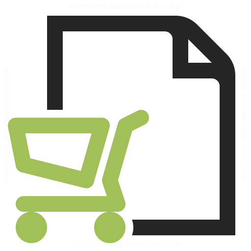 Purchase Order Icon Iconexperience