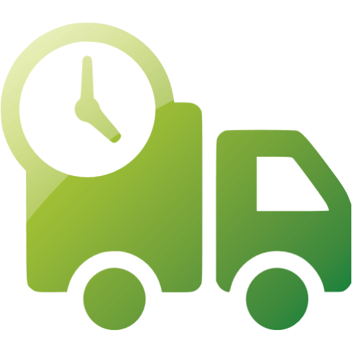 Web Green Delivery Icon