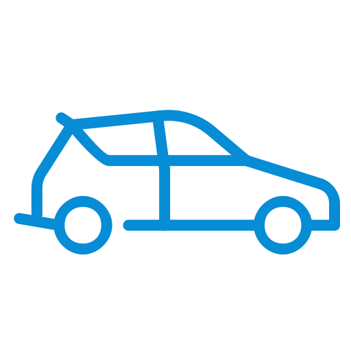Vehicle, Delivery, Home Delivery, Transport, Distribution, Van Icon