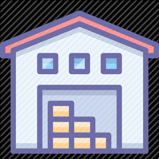 Depot, Storehouse, Warehouse Icon