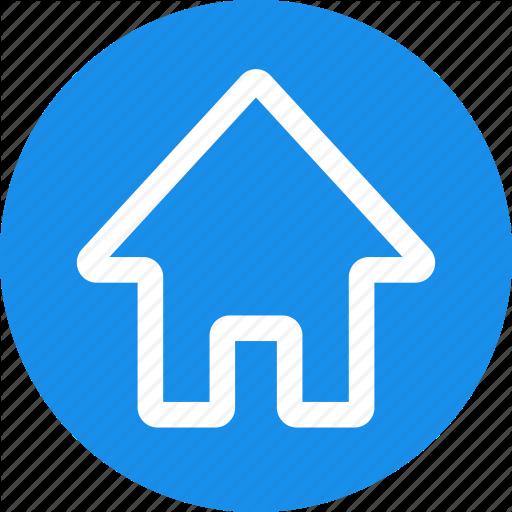 Address, Apartment, Casa, Circle, Home, House, Local Icon