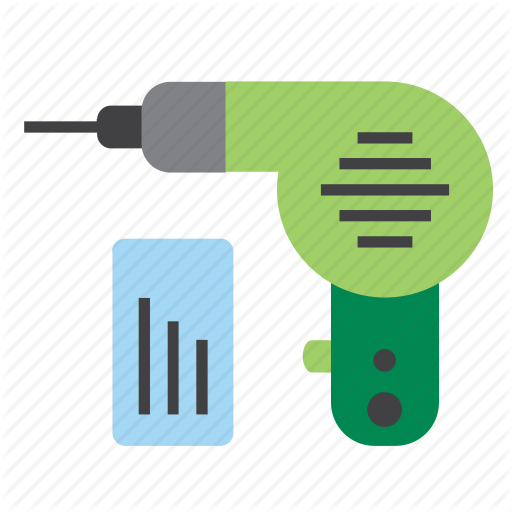 Bits, Diy, Drill, Home, Implement, Improvement, Tool Icon