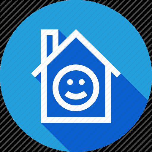 Enviornment, Happy, Home, Improvement, Smile Icon