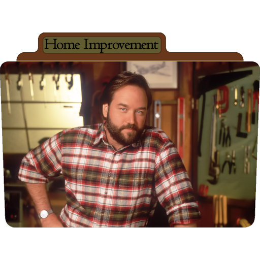 Homeimprovement Icon Tv Movie Folder Iconset Aaron Sinuhe