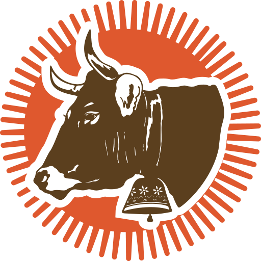 Cropped Icon Bell Cow